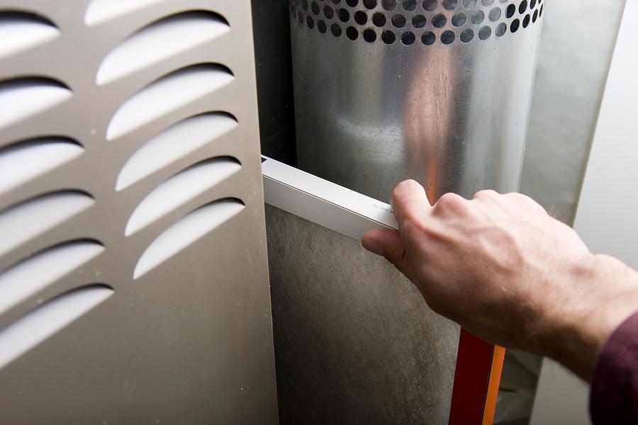 Entretien d'une fournaise pour le chauffage