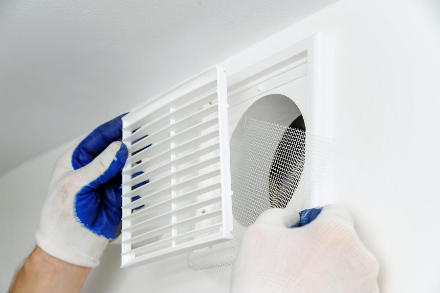 echangeur air air maison nettoyage filtre echangeur air