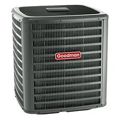 Venez voir la thermopompe centrale Goodman GSZ16