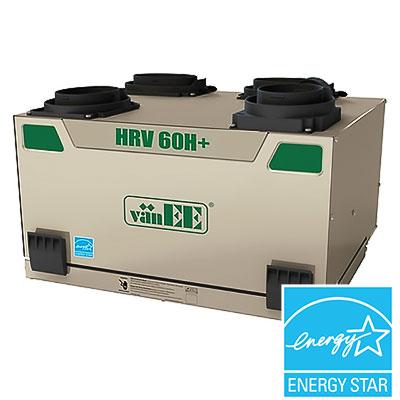 L'échangeur d'air vaNEE HRV 60H, un VRC parfait pour obtenir un air pur et chauffé de surcroît.