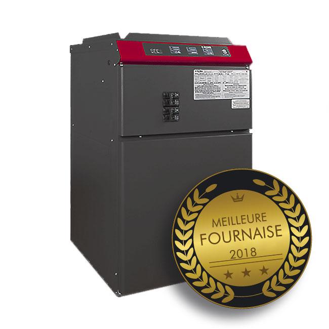 Les professionnels du domaine du chauffage déterminent que la fournaise électrique Stelpro série SFECM est la meilleure fournaise offerte au Québec en 2018.