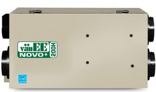 Voici l'échangeur d'air Novo 200h de vanee en exemple.