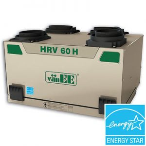 L'échangeur d'air, le vänEE 60H HRV est un participant cette année2019 du top15 qui comptent les meilleurs de la province.